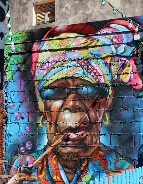 Guadeloupe street art