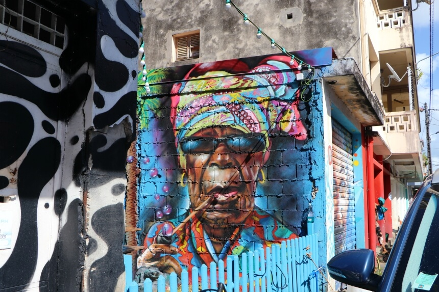 Street art in Guadeloupe