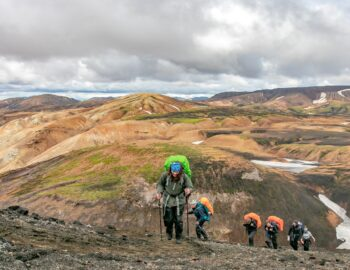 The Iceland Trail – een spectaculaire hike door IJsland