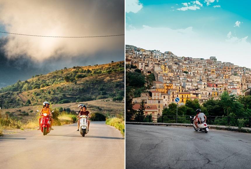 Ontdek de mooiste plekjes van Italië op een authentieke Vespa