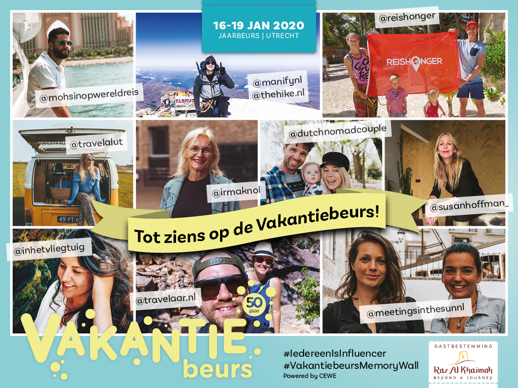 Visual Ansichtkaart influencers