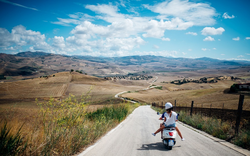 The Vespa Trip in Sicilië