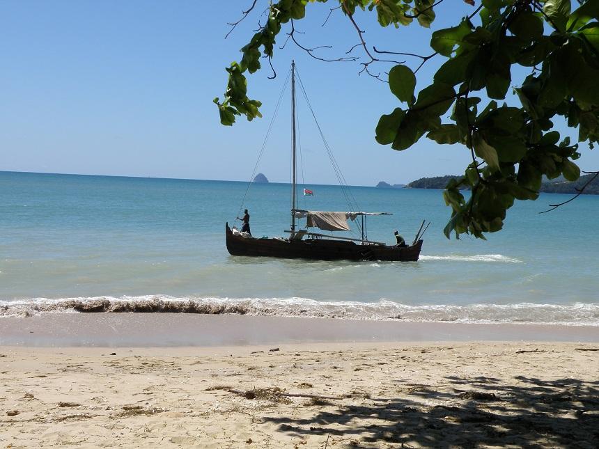 Madagaskar heeft een 5000 km lange kustlijn