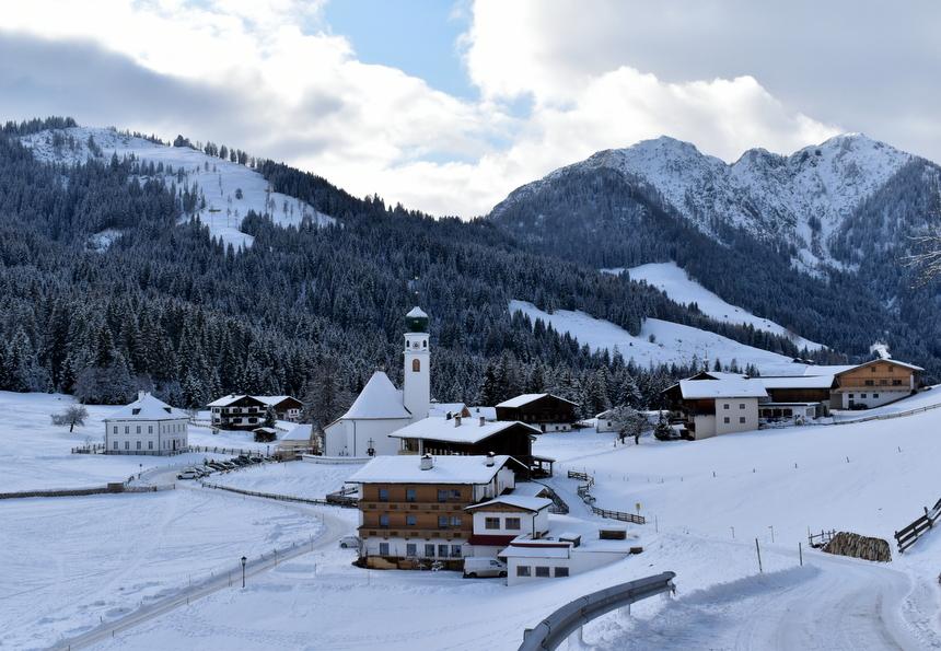 Het piepkleine dorp Thierbach