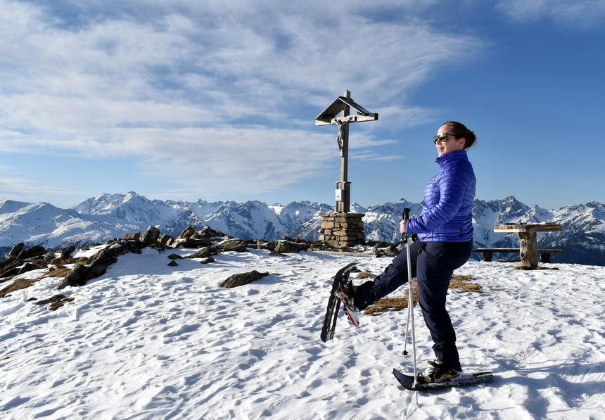 Sneeuwschoenwandelen in Pitztal