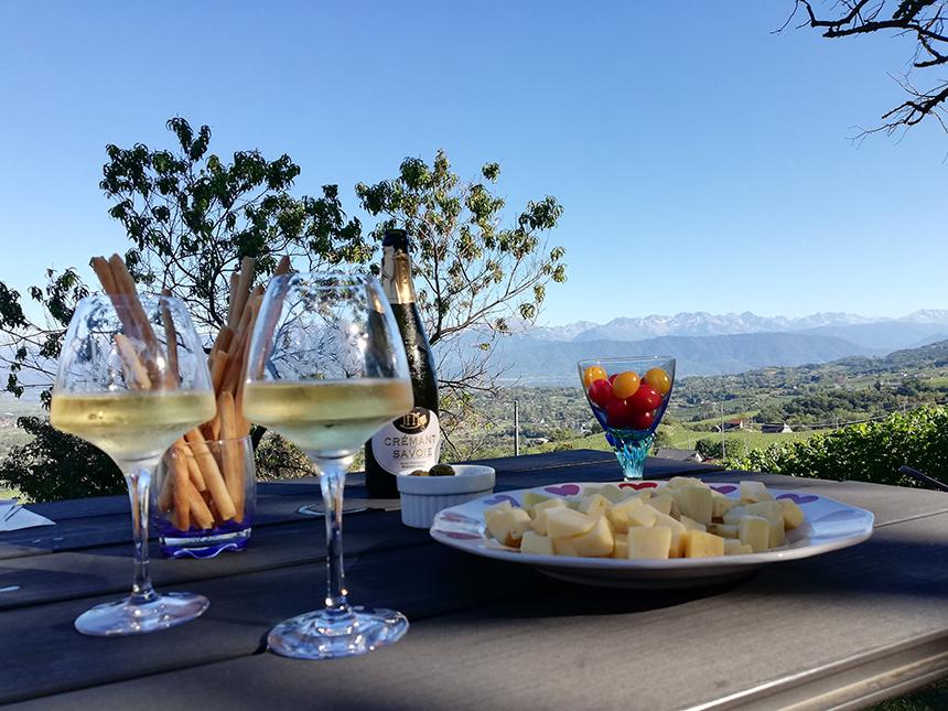 Savoie, wijngaarden, wijnproeverij