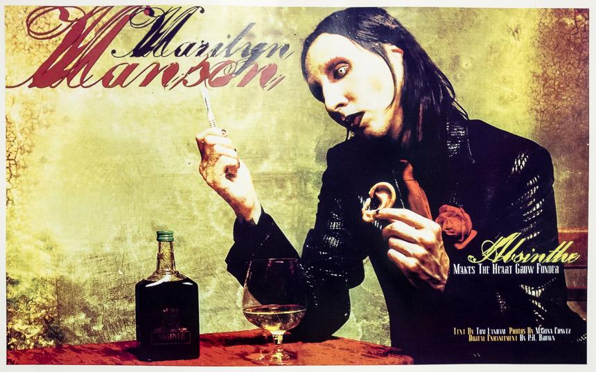 Marilyn Manson Absint