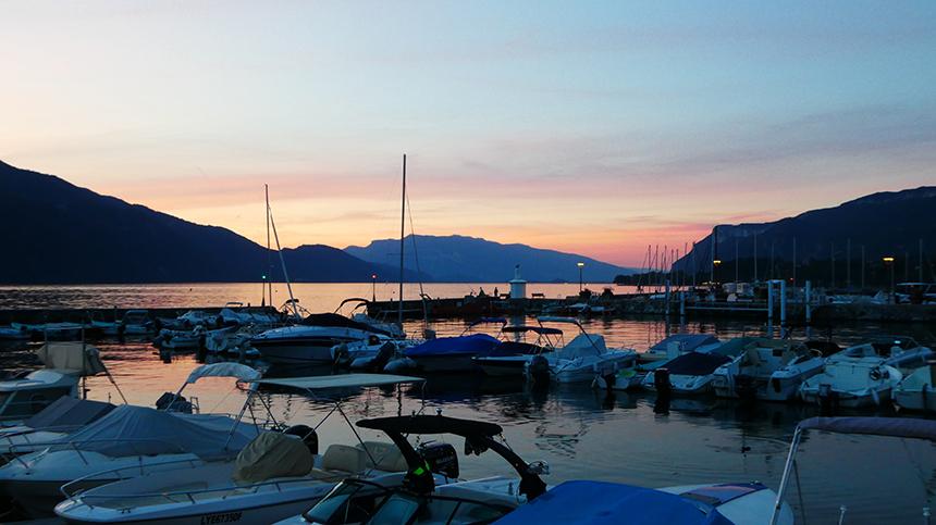 Aix les Bains, Lac du Bourget
