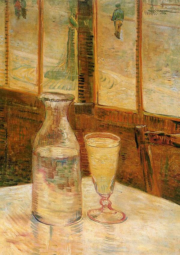 Van Gogh: stilleven met Absinth