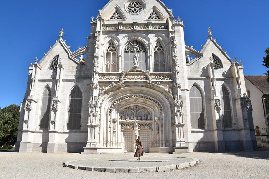 Bourg-en-Bresse, klooster van Brou