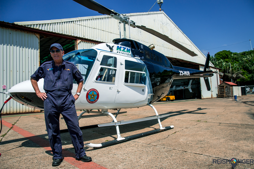 Piloot Phil van KZN Aviation