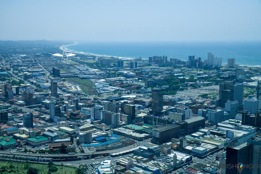 Helikoptervlucht Durban