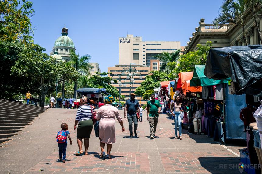een wandeling door Central Durban