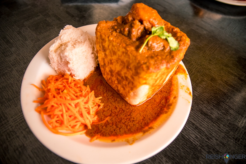 Durban bunny chow - dit is de bunny mutton