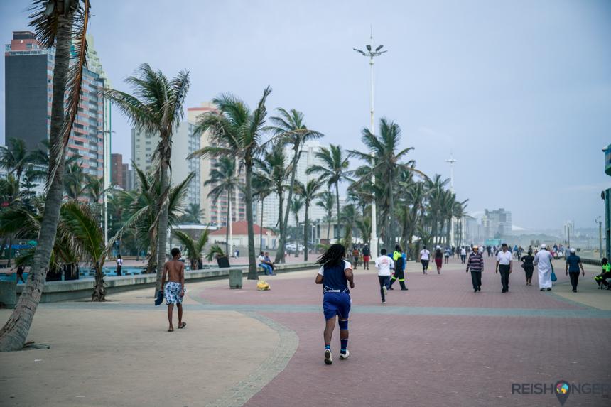 Golden Mile boulevard Durban