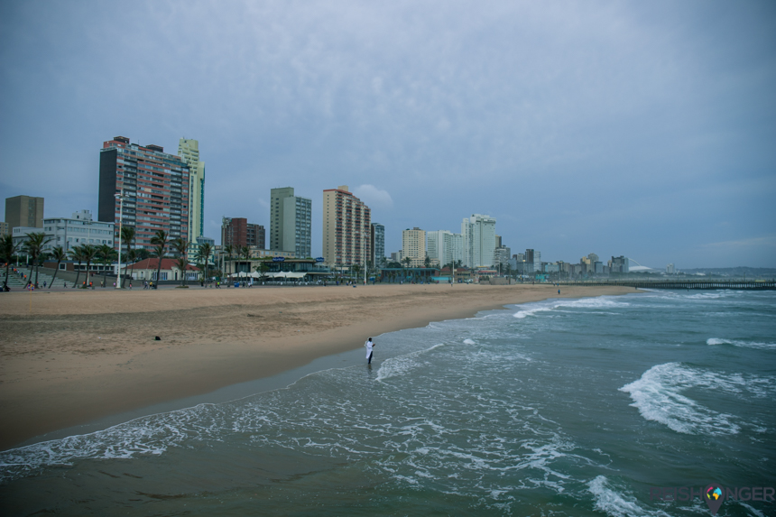 Golden Mile strand Durban