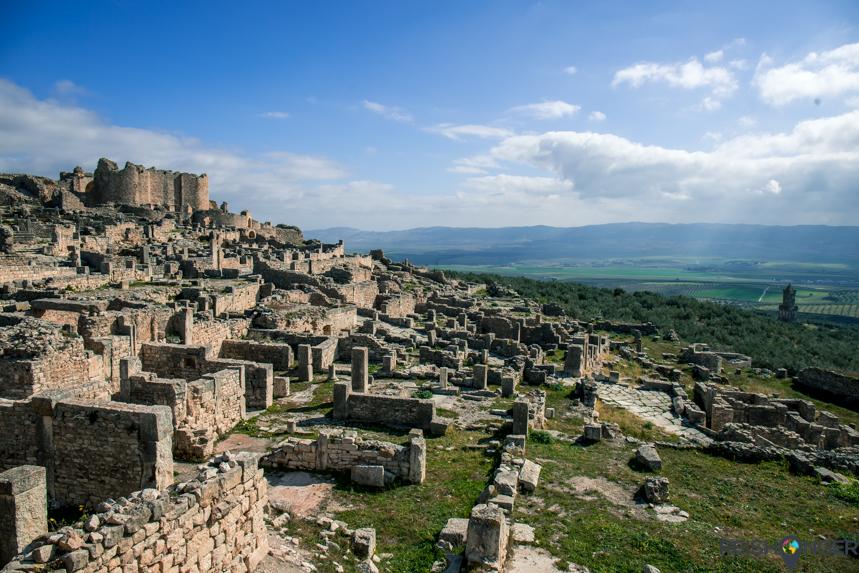 De ruïnes van Dougga zijn minder bekend dan die van Carthago en spreken minder tot de verbeelding, maar wel beter bewaard gebleven