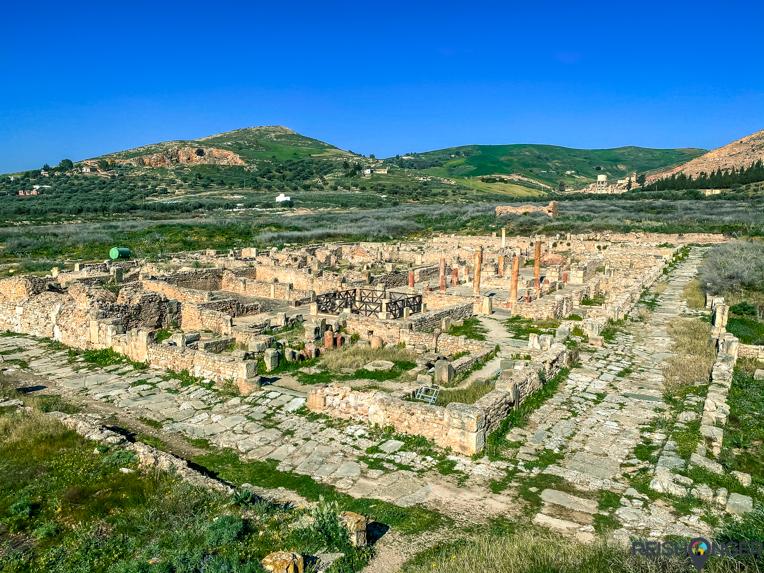 Bulla Regia Tunesië