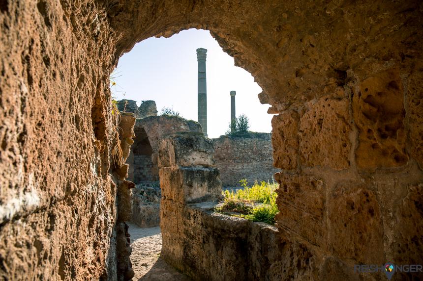 ruïnes van Carthago
