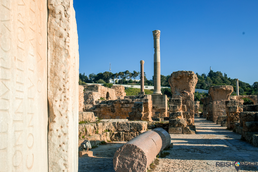 Archeologische stad Carthago
