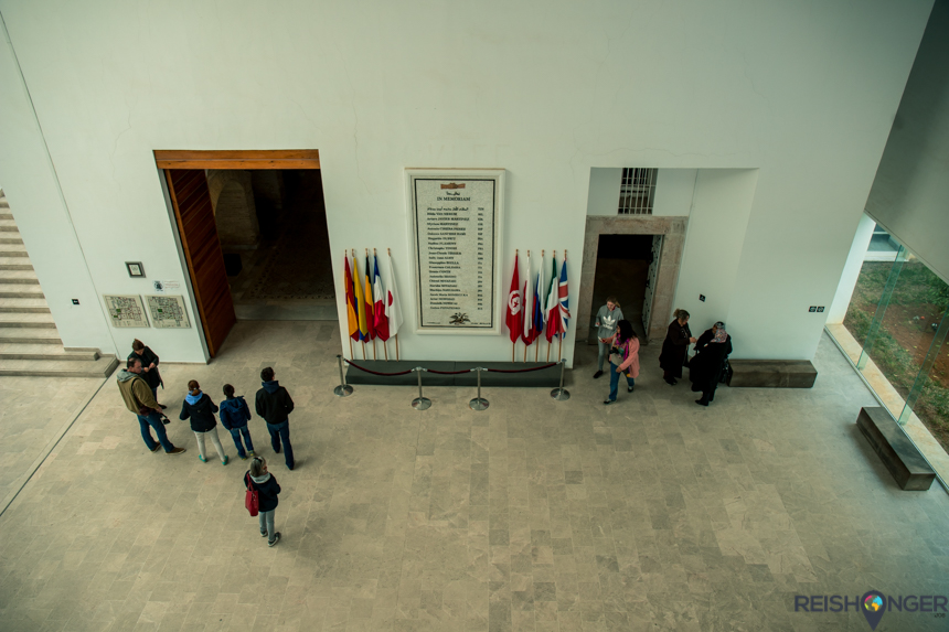 gedenkteken aanslag Tunesië
