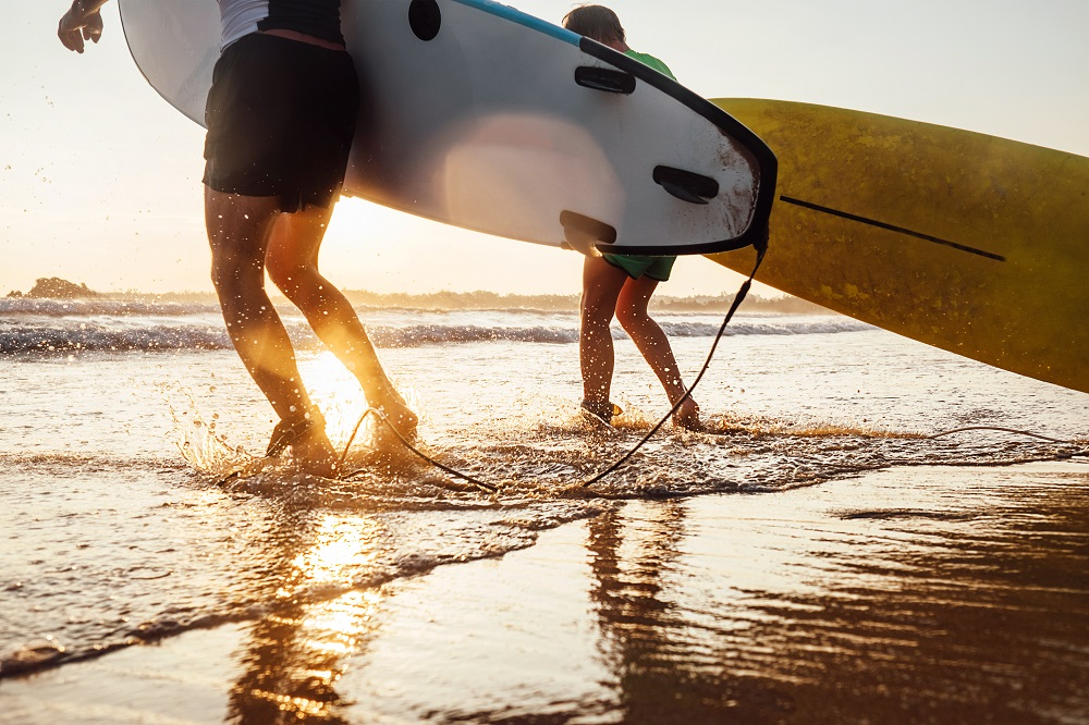 Surfen in Biscarrosse