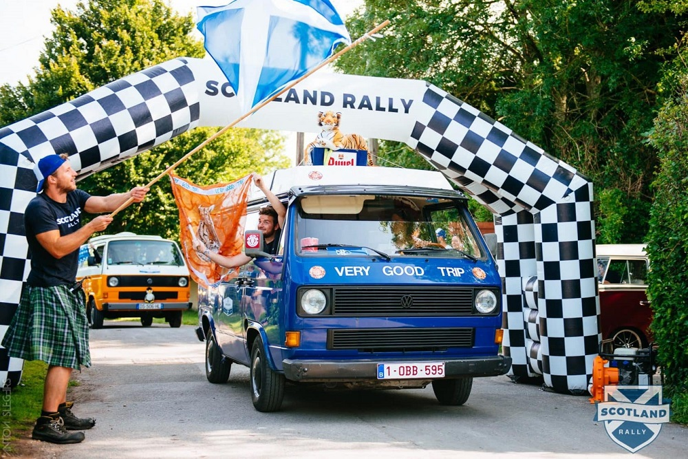 inschrijven voor de Scotland Rally