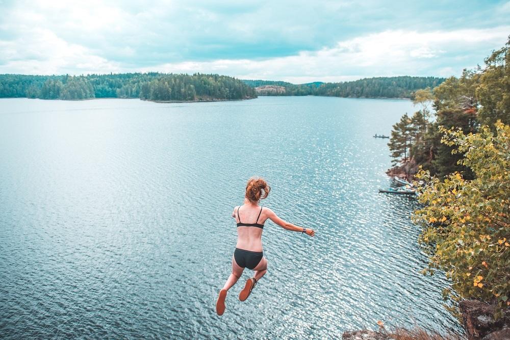 canoe trip sweden