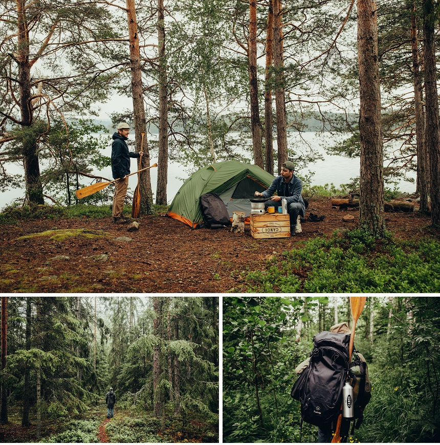 outdoor holiday in Sweden