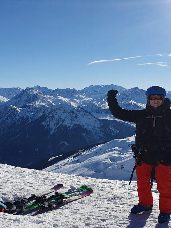 paragliding la Plagne