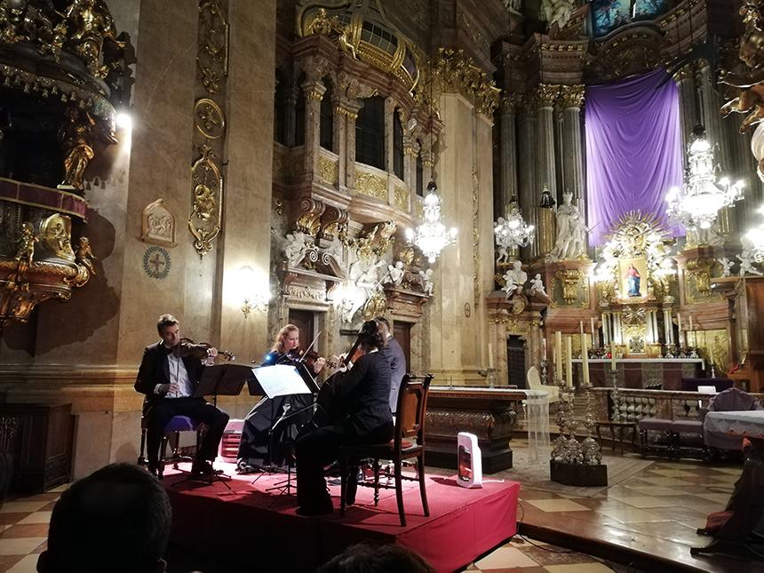 Klassiek concert, Sint Petruskerk, Vienna, Wenen
