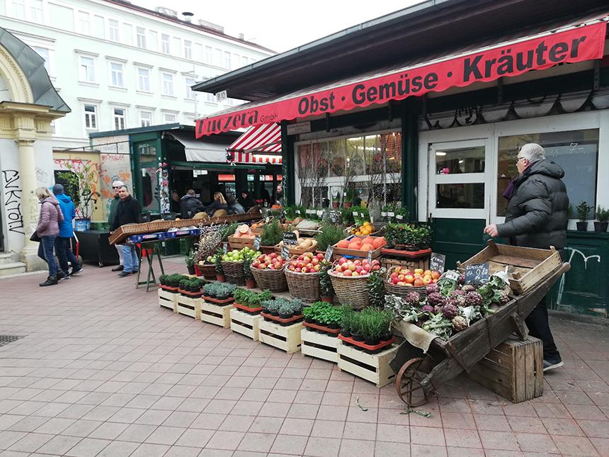 Naschmarkt, Wenen, Vienna