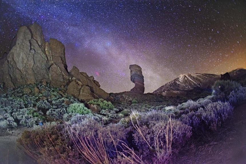 Estrellas Zone Parque Nacional Teide