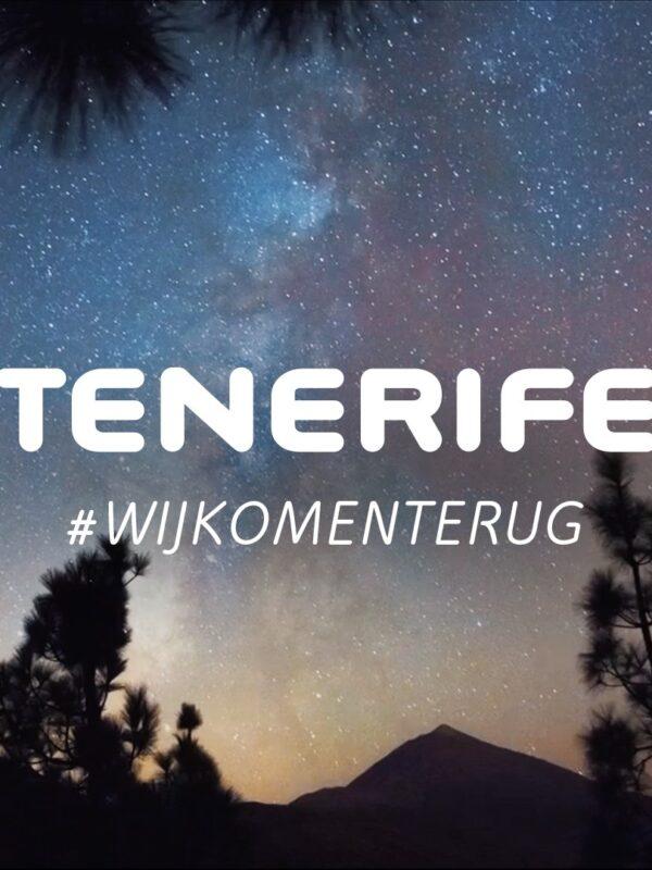 Tenerife #wijkomenterug
