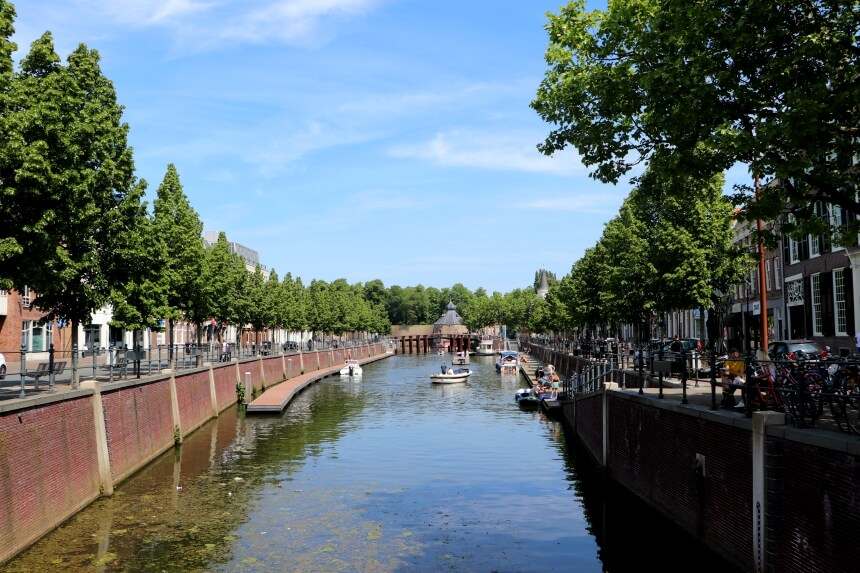 De grachten van Breda, leuk voor een boottochtje