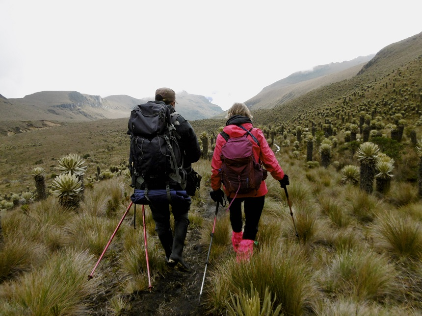 gids in Andes -  #keephikingkeepliving #viajamanana