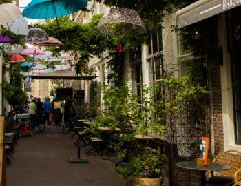 Dwalen door historisch Middelburg