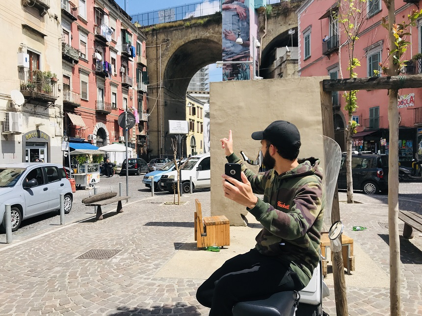 Virtuele stadstour door Rione Sanita