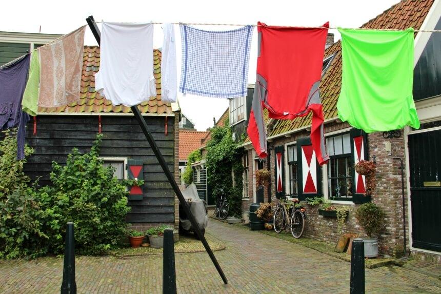 Typisch Hollandse plaatjes in 'het doolhof'