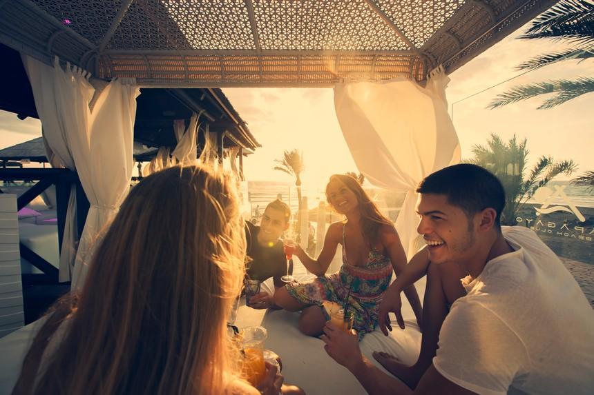 beach club Papagayo