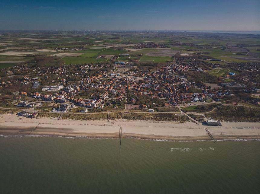 Luchtfoto van Domburg