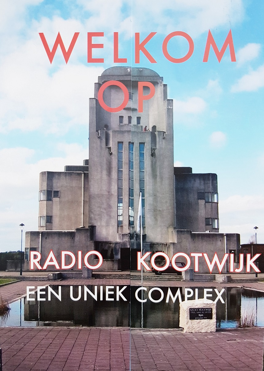 Oude folder over Radio Kootwijk