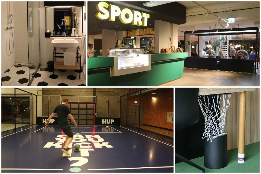 Het HUP hotel heeft veel sportfaciliteiten. Ook kun je in de omgeving wandelen, fietsen en naar Eindhoven