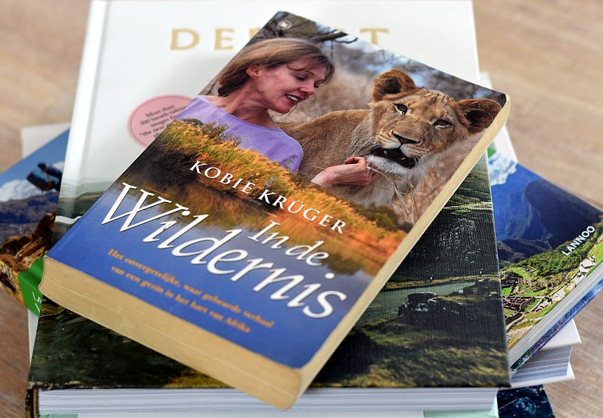 Kobie Krüger - In de wildernis, een van de favoriete reisboeken volgens Reishonger