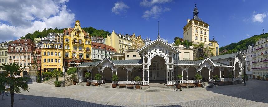Karlovy Vary - Tsjechië corona