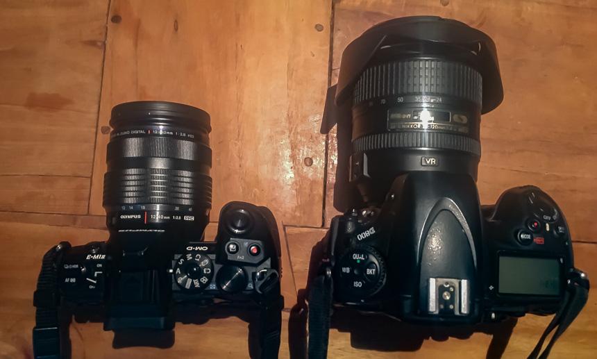 MFT vs Nikon Full frame, beiden met kwaliteit (zoom) lens
