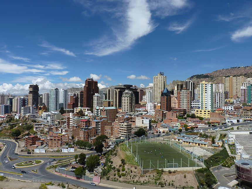 Reisboeken Reishonger - Marching Powder La Paz
