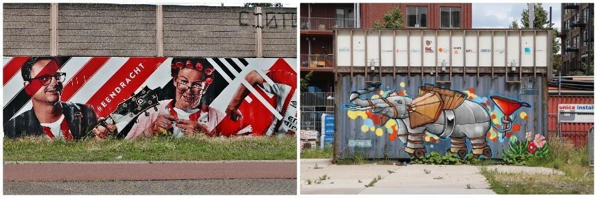 Street art in Eindhoven