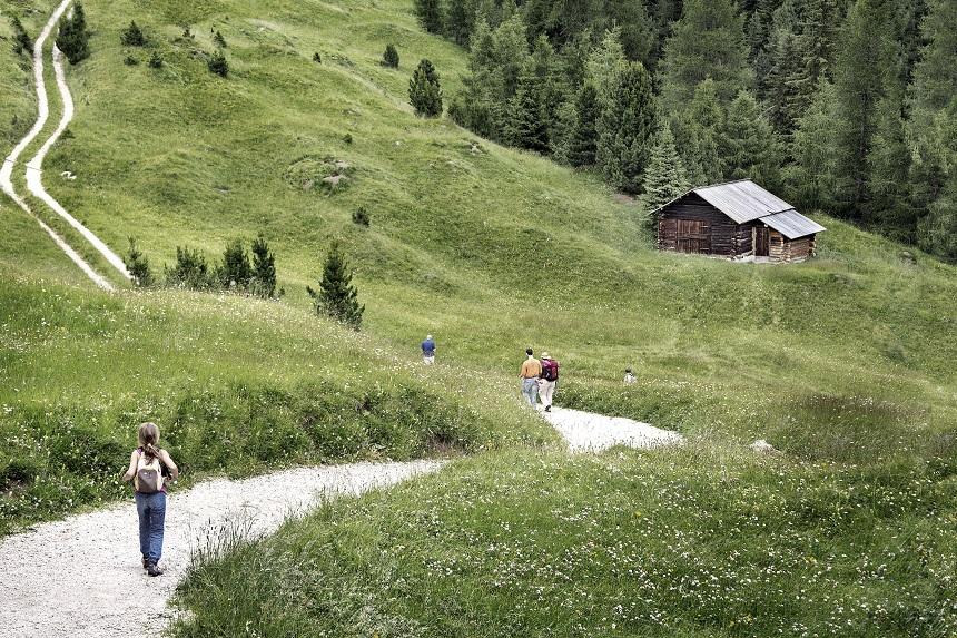 Val di Fassa - Rifugio Boä - Trekking verso il rifugio - credits Daniele Lira