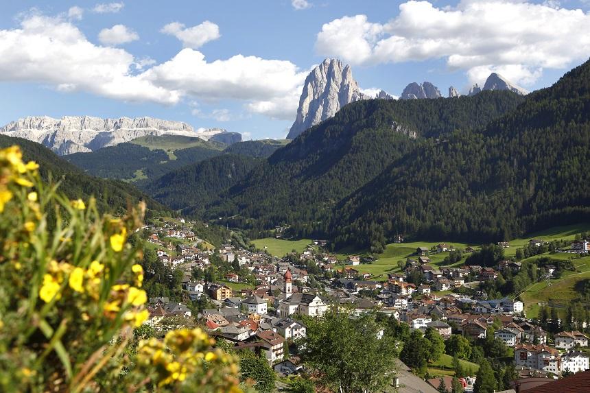 Sankt Ulrich - Ortisei op 1.236 meter hoogte